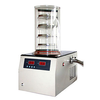 -50°C Vacuum Freeze Drying Machine, Digital Display