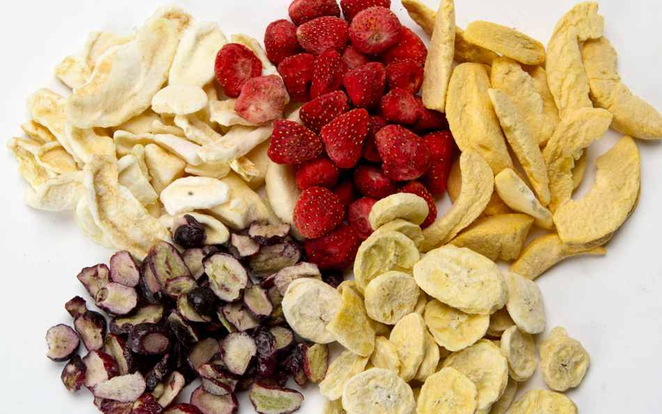 What food can be freeze dried 1